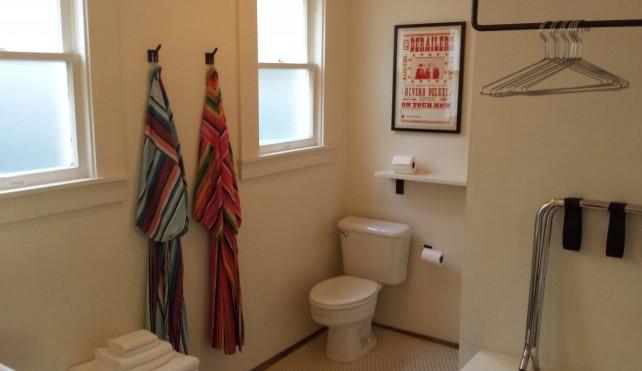 Bathroom at Hotel San Jose – Room #22 The Petite Suite