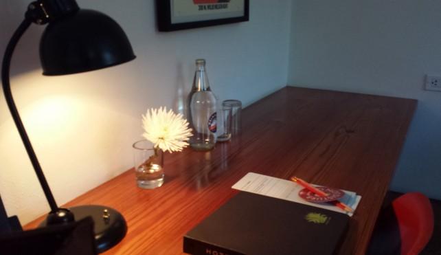 Desk at Hotel San Jose – Room #22 The Petite Suite