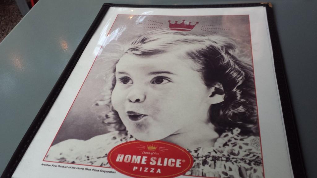Home Slice Pizza menu