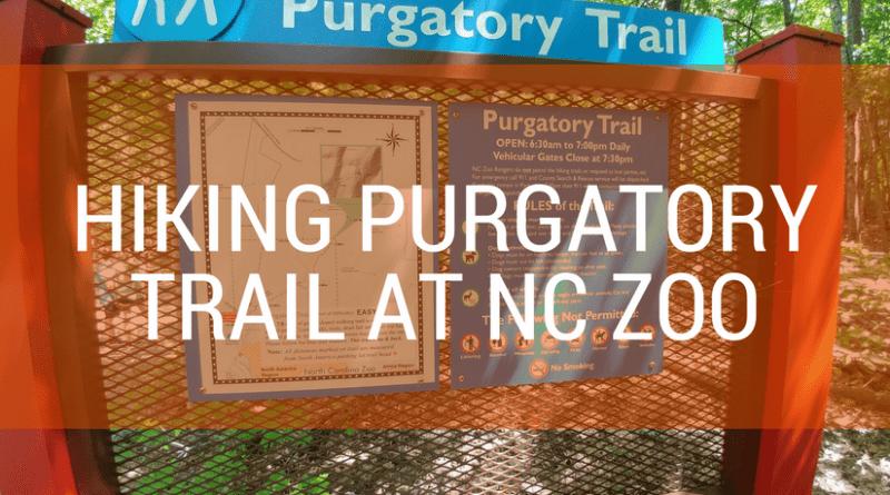 Hiking trail at Purgatory Mountain NC Zoo