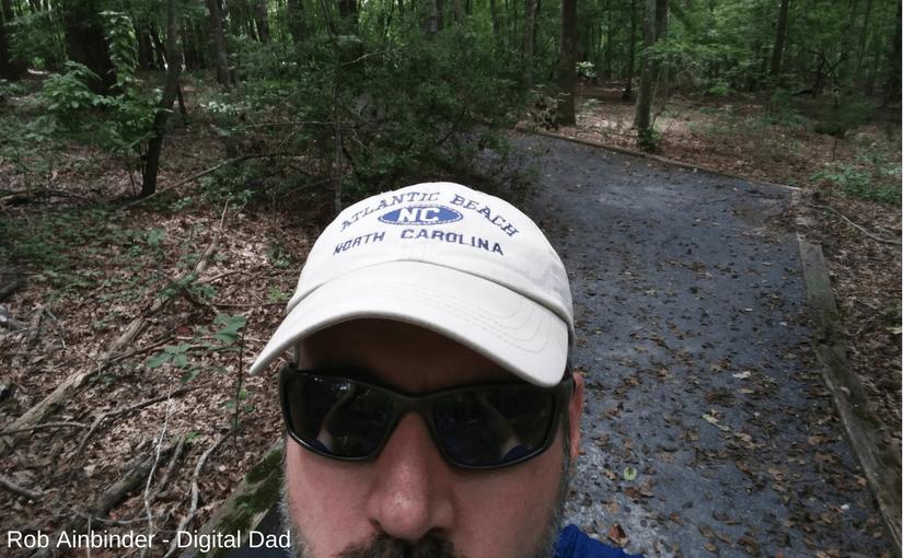 Rob Ainbinder on Purgatory Mountain Trail