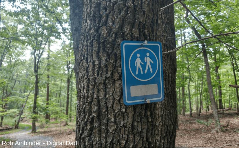 Purgatory Mountain trail marker