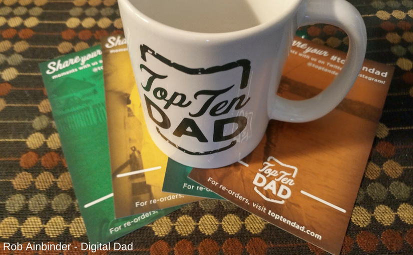 Top 10 Dad coffee mug