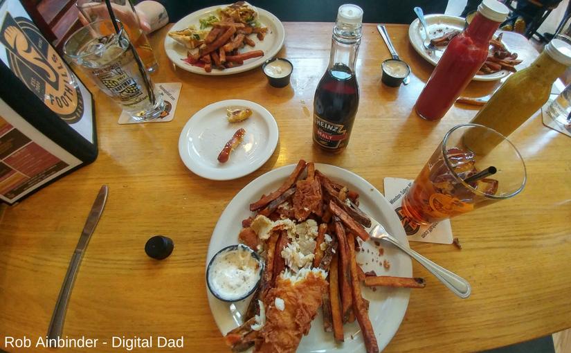 food at Foothills brewpub winston salem
